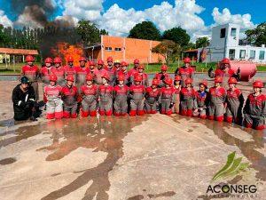 Treinamento de Brigada de Incêndio NR - 23
